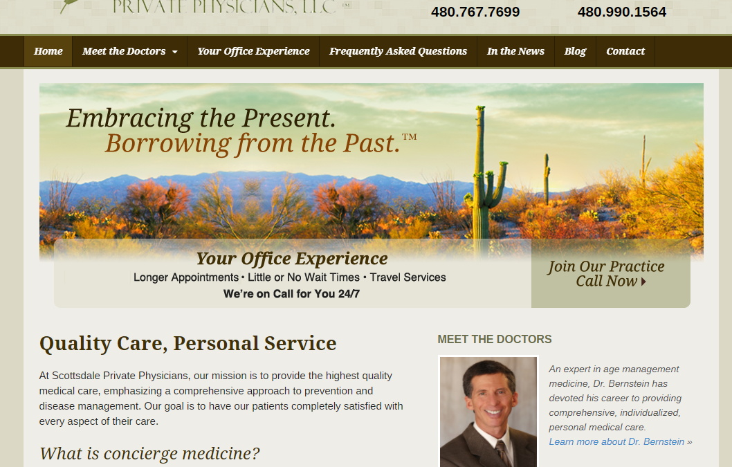 Scottsdale Private Physicians LLC – White Inc. Consult