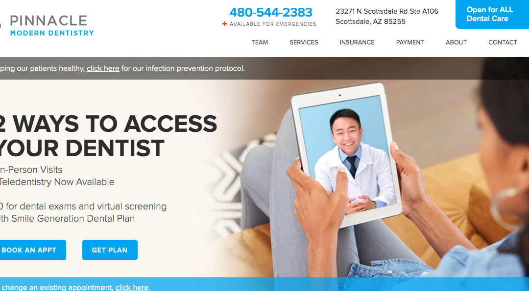 Pinnacle Modern Dentistry – White Inc. Consult
