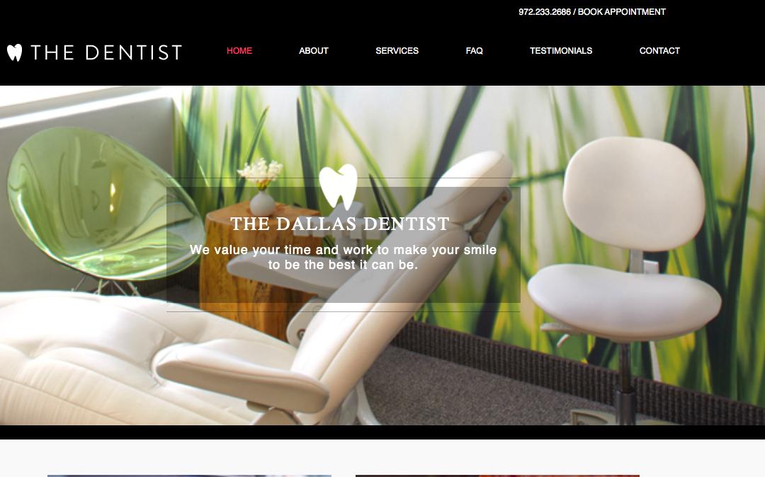 The Dallas Dentist – White Inc. Consult