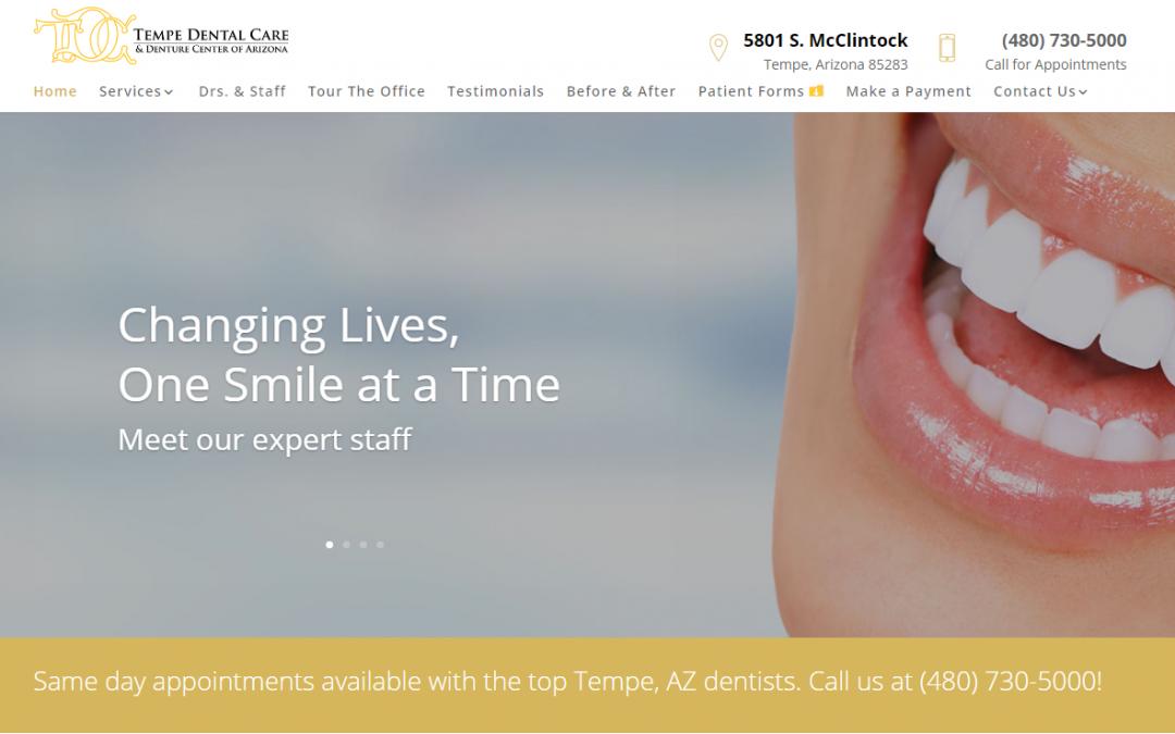 Tempe Dental Care – White Inc. Consult