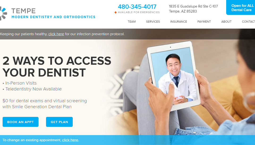 Tempe Modern Dentistry and Orthodontics – White Inc. Consult