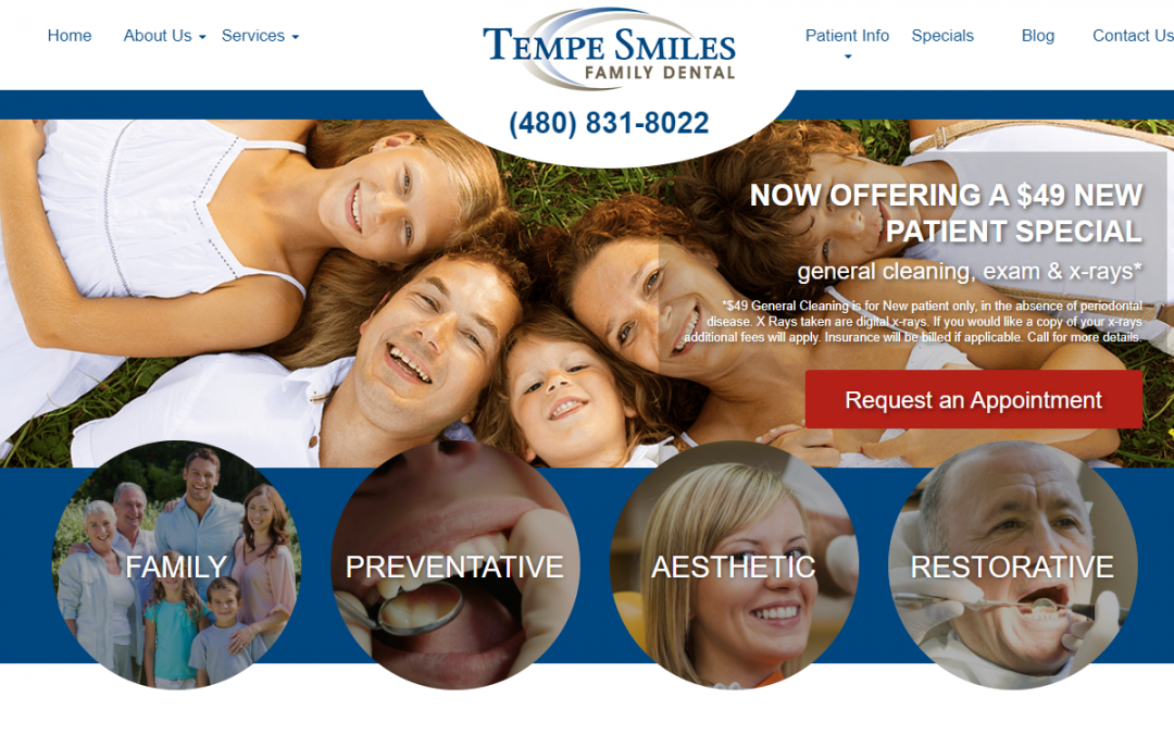 Tempe Smiles Family Dental – White Inc. Consult