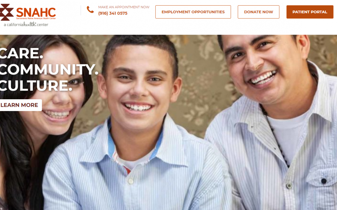 Sacramento Native American Health Center – White Inc. Consult