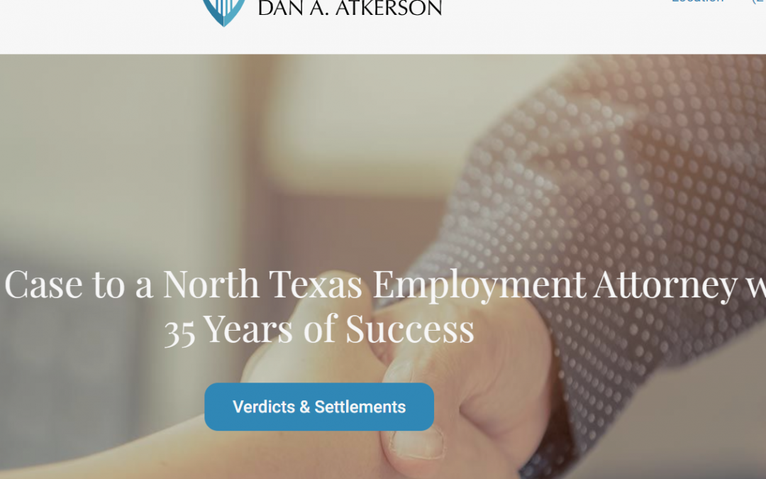 Law Offices of Dan A. Atkerson – White Inc. Consult