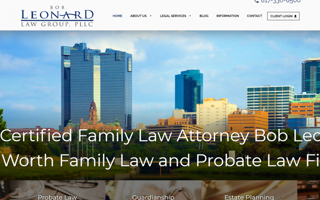 Law Office of Bob Leonard Law Group, PLLC – White Inc. Consult
