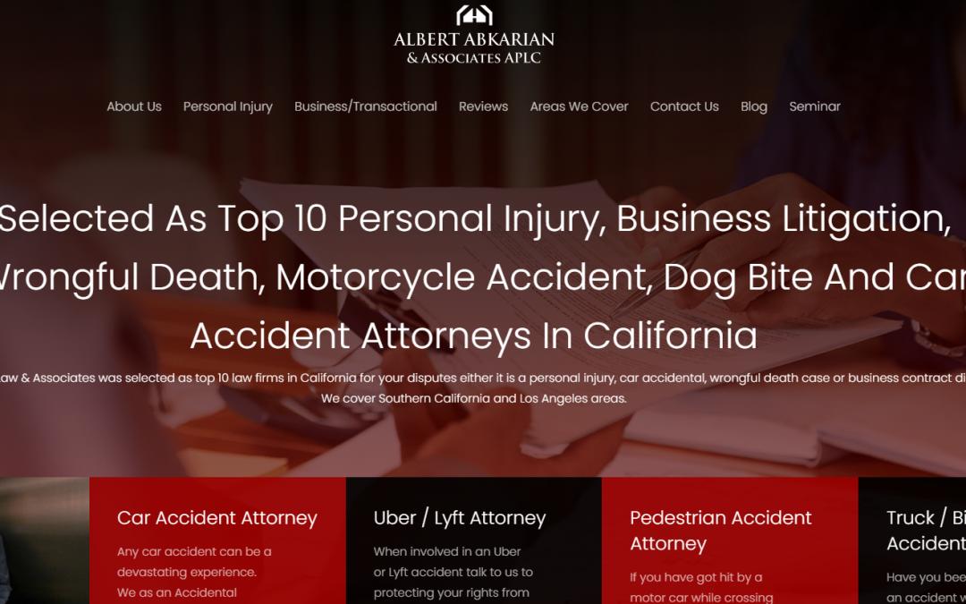Albert Abkarian & Associates – White Inc. Consult