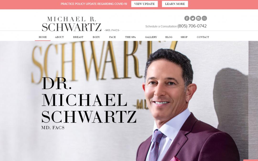 Michael R. Schwartz M.D FACS – White Inc. Consult