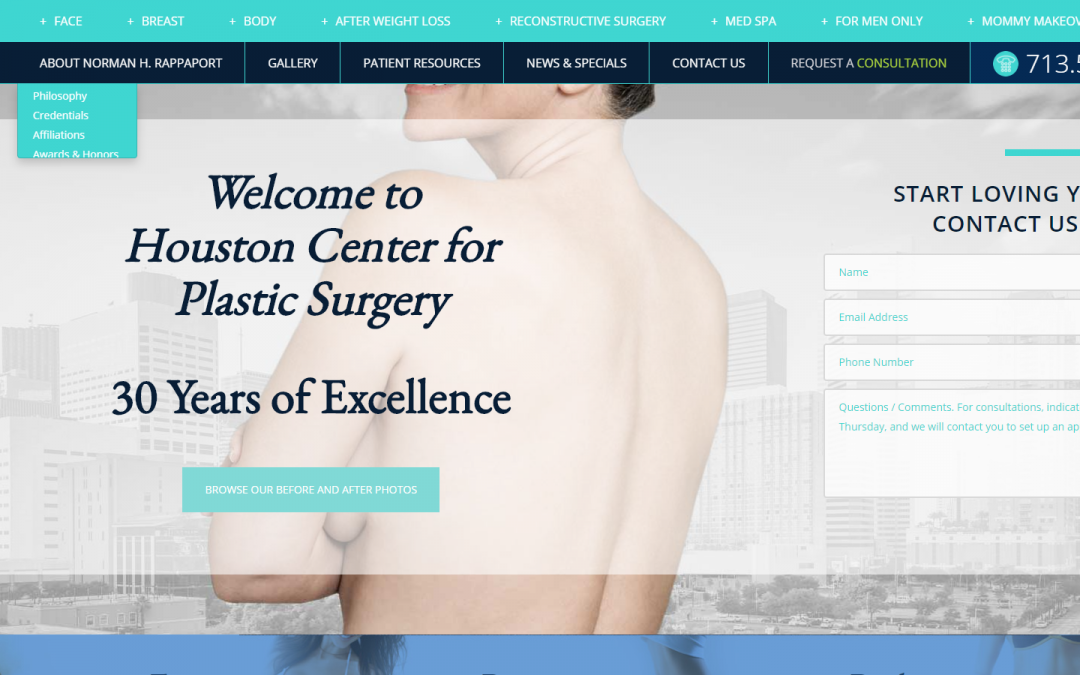 Houston Center for Plastic Surgery, PA – White Inc. Consult
