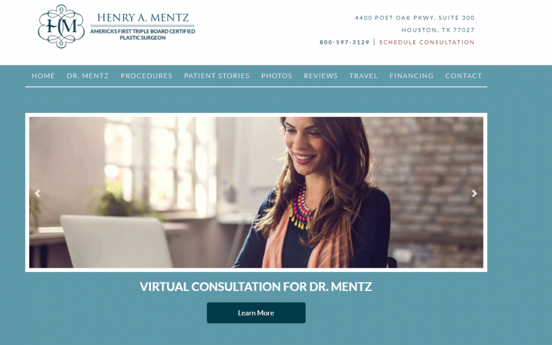 Dr. Henry Mentz MD Plastic Surgery – White Inc. Consult
