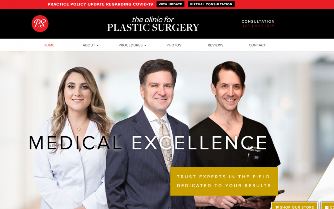 The Clinic for Plastic Surgery – White Inc. Consult