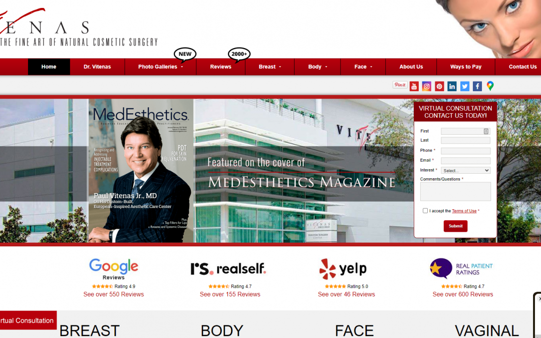 Vitenas Cosmetic Surgery – White Inc. Consult