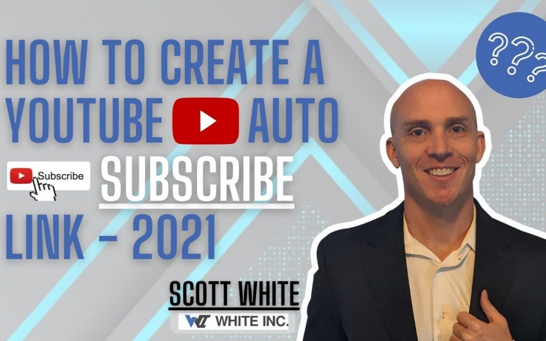 How To Create a Youtube Auto Subscribe Link – 2021
