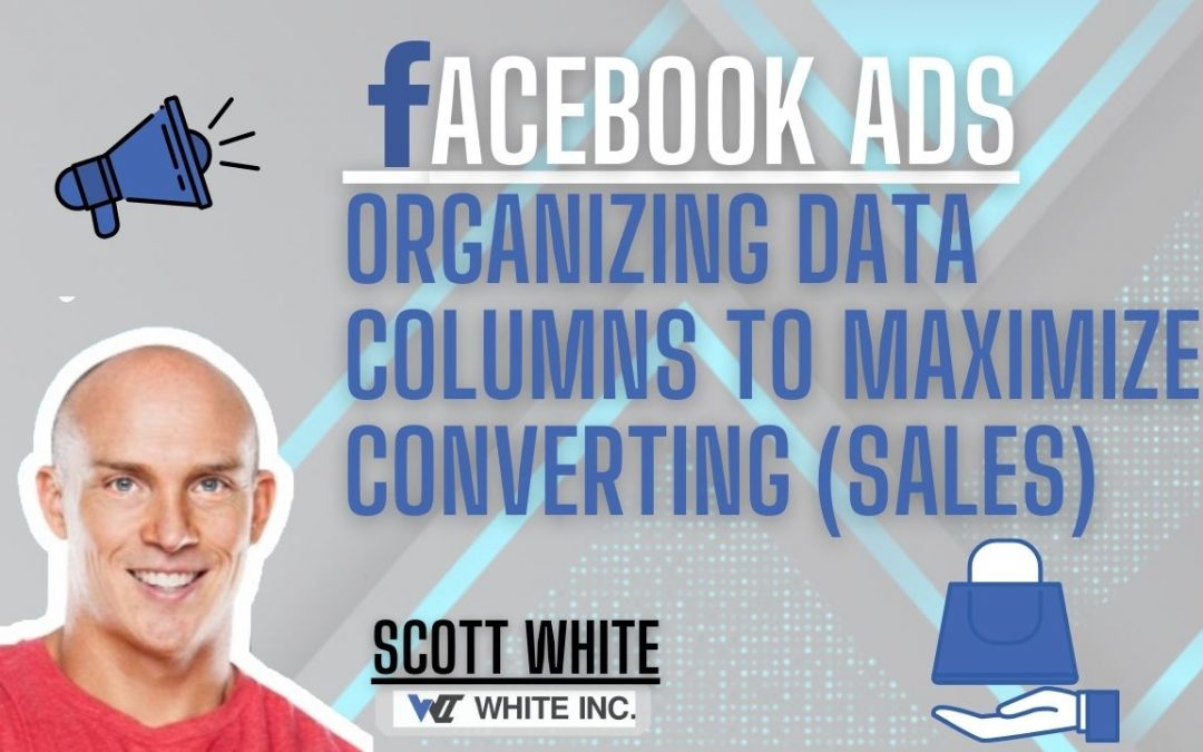 FaceBook Ads Organizing Data Columns To Maximize Conversions (sales)