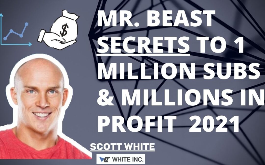 MrBeast's Secrets to 1 Million Subs & Millions in Profit  2021
