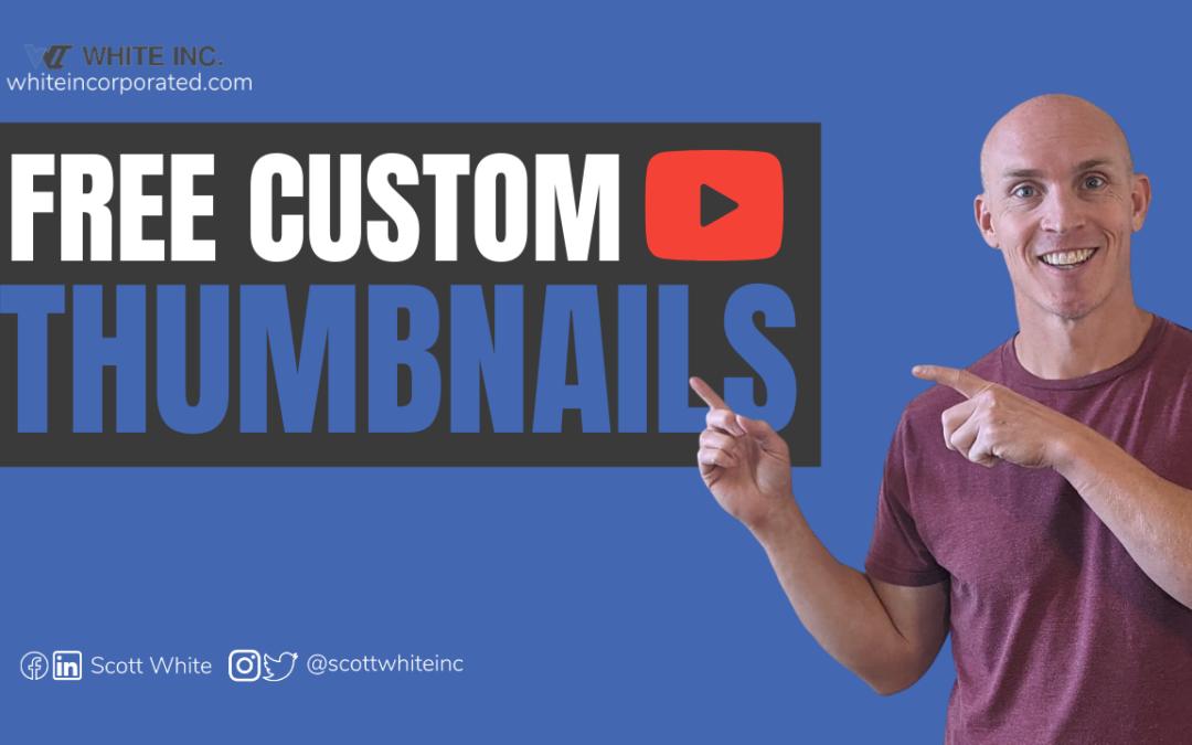 YouTube Custom Thumbnails Quick & Easy 2021